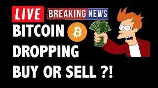 CRYPTO: BUY BITCOIN DIP?! CRYPTOCURRENCY,LITECOIN,ETHEREUM,XRP RIPPLE,TRON TRX,CARDANO,EOS,BTC NEWS