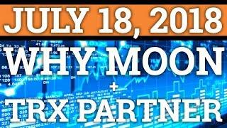 *PROOF* WHY IS CRYPTOCURRENCY MOONING? NEW TRON TRX PARTNERSHIP? BITCOIN BTC PRICE PREDICTION NEWS
