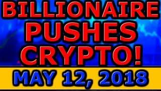 Billionaire ADVISES Everyone To BUY Cryptocurrency! PAY With LITECOIN! Ripple XRP Logo CONTEST!