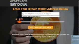 Free BITCOIN Generator June 2018 - REALLY WORK !!! (UP TO 3 BTC)
