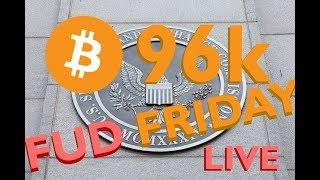 Bitcoin to 96k? XRP vs XLM -SEC Wants to Help? FUD Friday - Crypto News Live