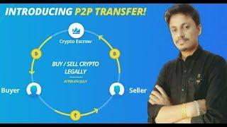 Peer2Peer Transfer | Cash Your Crypto | How it Works | Being India Crypto Tech