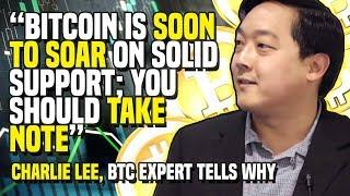"""Bitcoin Is SOON TO SOAR On Solid Support; You Should TAKE NOTE"" - Charlie Lee, BTC Expert Tells Why"