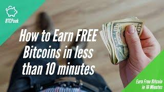 How to earn Free Bitcoins in 2018 legit
