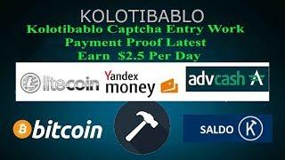 Earn $2 Bitcoin | Lite coins Daily | Make Money | Kolotibalo  Data Entry Jobs Work From Home  2018