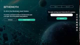 Bithemoth cryptocurrency trading