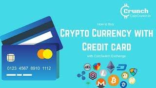 Buying CryptoCurrency With Credit Card on CoinSwitch
