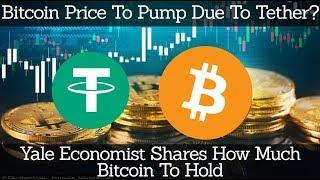 Crypto News | Bitcoin Price To Pump Due To Tether? Yale Economist Shares How Much Bitcoin To Hold