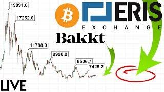 WALLSTREET NEWS: Bakkt is getting Competition from ErisX! (+ Bitcoin TA)