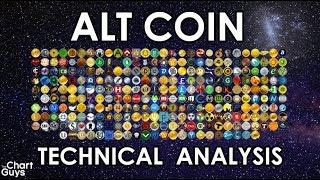 Bitcoin + ALTS Technical Analysis Chart 8/5/2018 by ChartGuys.com