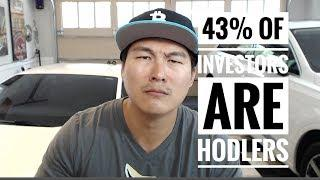 43% of Crypto Investors are HODLers - Are You? - Price of Bitcoin by End of 2018?