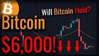 Will Bitcoin Actually Break $6,000? Ethereum Entering Buying Territory?