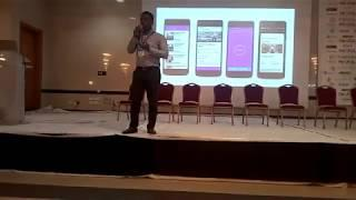 Eventrabbt's pitch at the Blockchain and cryptocurrency conference, Lagos Nigeria. FULL VIDEO
