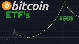 $60k Soon? | Bitcoin ETF's To Push BTC Towards $60,000 According To These Charts