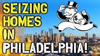 Philadelphia Residents SHOCKED As Homes Are Repossessed! - Public Gas Company Issuing Liens!