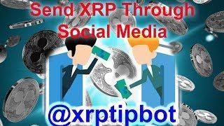 XRP TIP BOT - Send XRP over Twitter Reddit or Discord