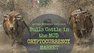 """Bitcoin BREAKING NEWS  """"BULLS IN MUD"""";  MAY 23-30th,  2018 CryptoCurrency in ASTRO- FINANCE Eye."""