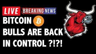 Are The Bitcoin (BTC) Bulls Back In Control?! - Crypto Trading & Cryptocurrency Price News
