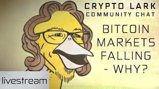 Crypto Lark Community Chat - Why the Bitcoin and cryptocurrency markets are falling
