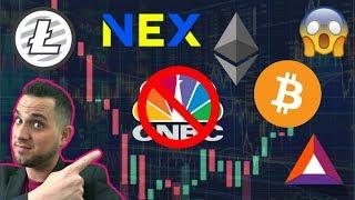 ???? Blockchain Breakout!!! $BTC Media Manipulation | $NEX = Regulated Security Token ????