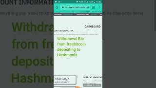 Testing Hasmania transactions. bitcoin to Hashmania, works, 100% proof