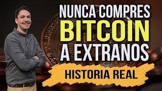 HISTORIA REAL ⛔️ Nunca compres #Bitcoin a extraños o podria pasarte esto  ????
