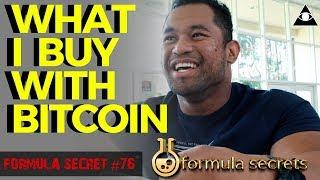 How I Use Bitcoin To Buy ANYTHING! Super Easy