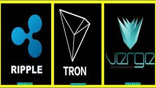 Crypto News _ Tron TRX, Verge XVG, and XRP – Top 3 Coins to Invest Right Now, Here's Why