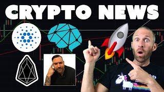 Cryptos Set to Explode | $EOS Airdrop | Huge $ADA News | Congrats Crypto Crow | $DBC in Silicon Vall