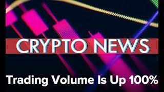 Bitcoin Volume Up, XRP looking forward - Crypto Hearing RECAP