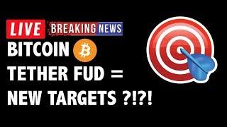 New Bitcoin (BTC) Targets After Tether FUD?!- Crypto Market Technical Analysis & Cryptocurrency News