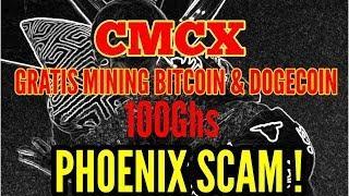 Mining Bitcoin/Dogecoin Gratis 100Ghs Di CMCX