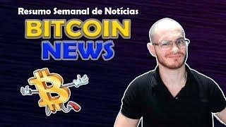 ???? Série Brasileira de Bitcoin, Criptomoedas Derretem e mais! Resumo de Notícias Bitcoin News 2018