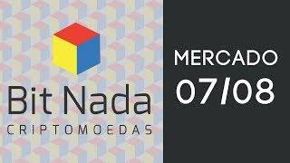 Mercado de Cripto! 07/08 / Mercado Parado / Roteador minerador / ATM Bitcoin / Grupos Pump & Dump