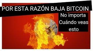 Análisis Bitcoin hoy [ LA RAZÓN POR QUÉ BAJÓ ] - OTRA VEZ-