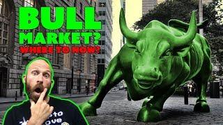 Crypto Bull Market - Where's Bitcoin Going???