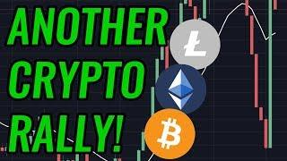 Bitcoin & Crypto Markets Move Up Again! Will The Rally Continue? BTC, ETH, BCH & LTC News!