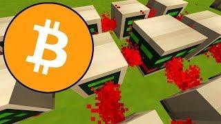Bitcoin! Bitcoin minen - Bitcoin erklären! In Minecraft!