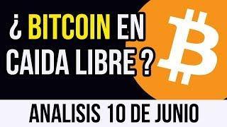 BITCOIN EN CAIDA LIBRE ! ANALISIS BITCOIN 10 DE JUNIO