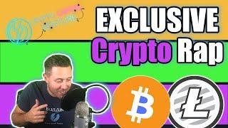 Bitcoin and Litecoin - EXCLUSIVE Rap Song ROCKET SHIP