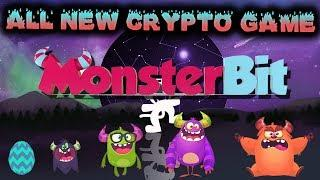 ALL NEW CRYPTO GAME! | MONSTERBIT ICO REVIEW