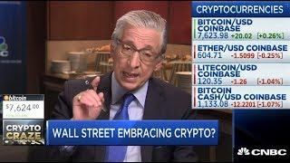 WALL STREET EMBRACING CRYPTOCURRENCY? - CNBC FAST MONEY