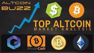 Top Altcoin Analysis - Neblio, Bitcoin, Bitcoin Cash and Ethereum