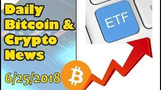 Daily Bitcoin and Cryptocurrency News 6/25/2018
