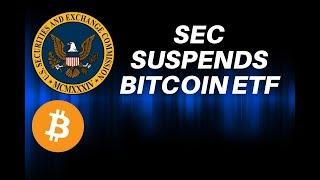 SEC suspended Bitcoin ETF! Bugatti accepting BTC as payment!