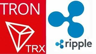 RIPPLE XRP & TRON TRX BULLRUN COMING WITH CRYPTO PARADIGM SHIFT!