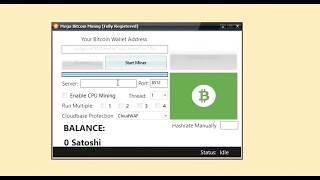 Mega bitcoin generator tool 2018 - 100% works ( with testimony )