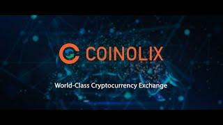 Coinolix Cryptocurrency Exchange Presentation video- #coinolix-exchange