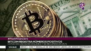 Recupera el Bitcoin 25% de su valor al cotizar en 8.230 dólares
