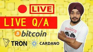 Tron or Cardano | Bitcoin Price Updates | General Crypto talk
